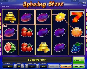 slot spinning stars online