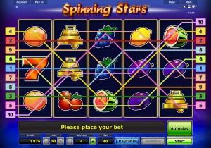 spinning stars online spielen