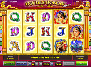 Golden Cobras Deluxe Slot