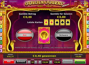 Golden Cobras Deluxe online
